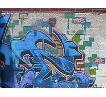 Jest Graffiti Art Photographic Print