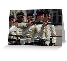 Guards at the Citadel, Halifax, Nova Scotia Greeting Card