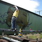 Graffiti Artist Agots by jesticles