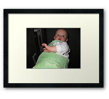 Giant Baby Framed Print