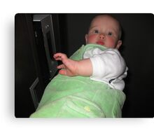 Giant Baby Canvas Print