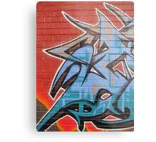 Jest Graffiti Metal Print