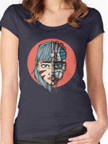 Tech Invasion  Women's Fitted Scoop T-Shirt