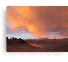 Stormy and Cloudy Sunset View Canvas Print