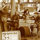 Street Musician, Market street, SF by Tomoe Nakamura