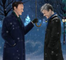 Mystrade - Christmas Eve Sticker