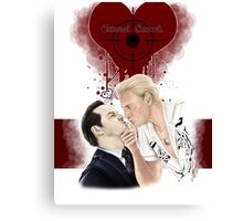 MorMor - Criminal Smooch Canvas Print