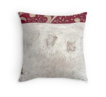 Two White Doves Throw Pillow