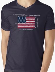 July 4th 1960 Mens V-Neck T-Shirt