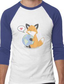 Firefox Love Men's Baseball ¾ T-Shirt
