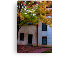 Autumn Solitude Canvas Print