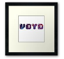 VOYD - 8-BIT Framed Print