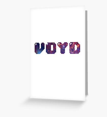 VOYD - 8-BIT Greeting Card