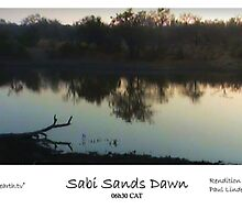 Dawn in Sabi Sands by Paul Lindenberg