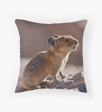 The Pika Project, II Throw Pillow
