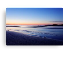 sunset of Malia Canvas Print