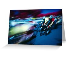 sprint! - Tour Down Under Greeting Card