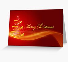 The Gold StarryTree Greeting Card