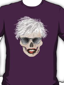 Pop-art Warhol skull T-Shirt