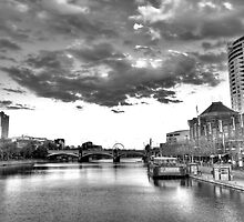 Southgate afternoon in  B&W by vnysia