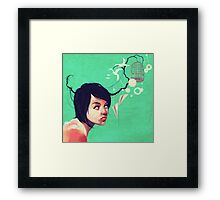 the daydream Framed Print
