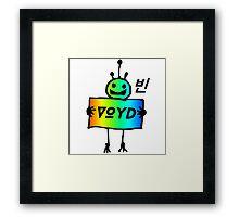VOYD - Robots Framed Print