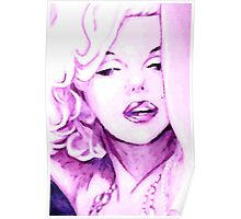 Pink Marilyn Poster