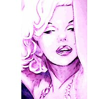 Pink Marilyn Photographic Print