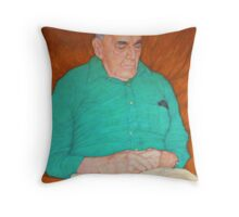After the Grandchildren Go Throw Pillow