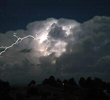 Byron Bay Lightning Jump by Michael Bath