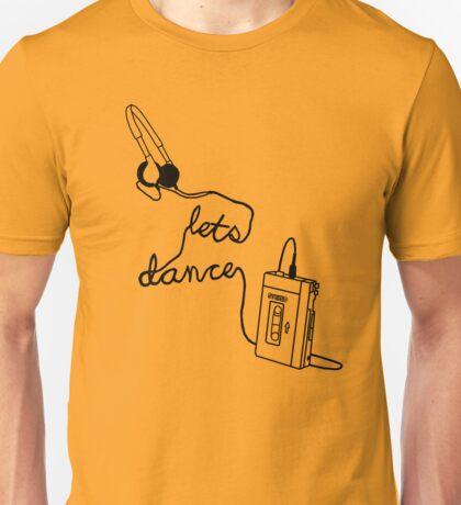 Let's Dance (cable) - Footloose Unisex T-Shirt