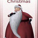 Old Fashioned Santa by Pam Moore