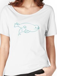 Mother & Baby: Seal Women's Relaxed Fit T-Shirt