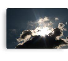 Invisible Sun Canvas Print