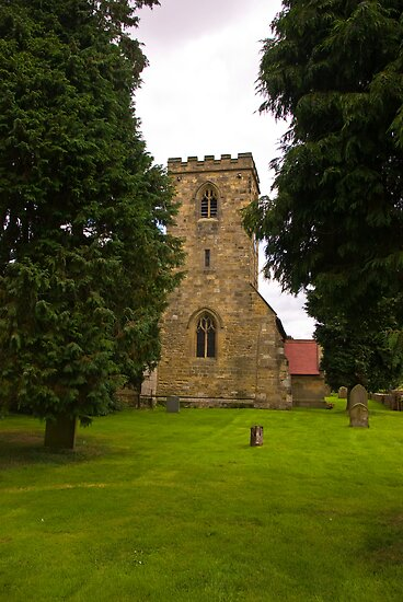 St Mary's Church - Myton on Swale by Trevor Kersley
