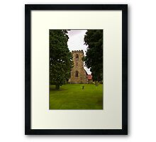 St Mary's Church - Myton on Swale Framed Print