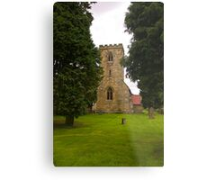 St Mary's Church - Myton on Swale Metal Print