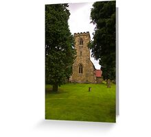 St Mary's Church - Myton on Swale Greeting Card
