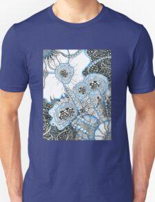 Blue Doodle Unisex T-Shirt