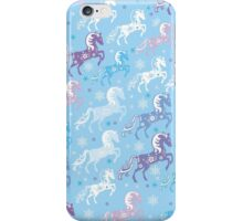 Chinese Blue Horse  Pattern   iPhone Case/Skin