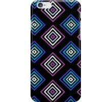 Blue and purple squares  iPhone Case/Skin