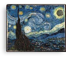 DeathStarry Night Canvas Print