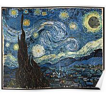 DeathStarry Night Poster