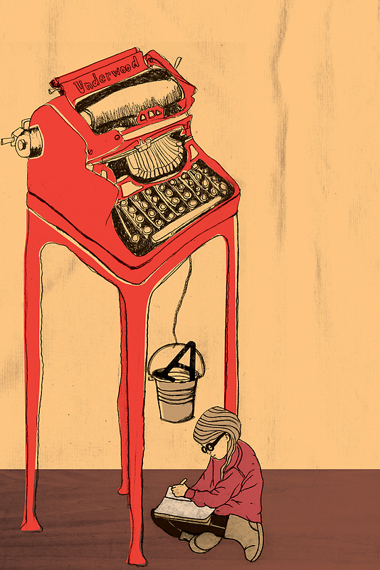 The Type Writer by Tanya Cooper