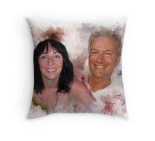 Happier Times Throw Pillow