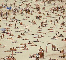 Beach, Australia's Bondi Beach by Brian McInerney