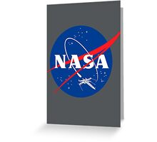 NASA EX-WNG Greeting Card