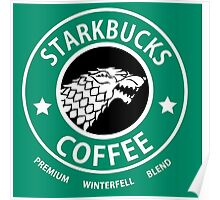 Game of Thrones Starbucks Coffee Poster