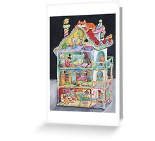 Magical Doll House Greeting Card