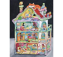 Magical Doll House Photographic Print